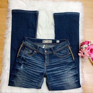 BKE Culture Bootcut Jeans Size 2 Long